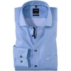 Photo of Olymp Luxor Shirt, modern fit, Extra long Arm, Bleu, 37 Olymp