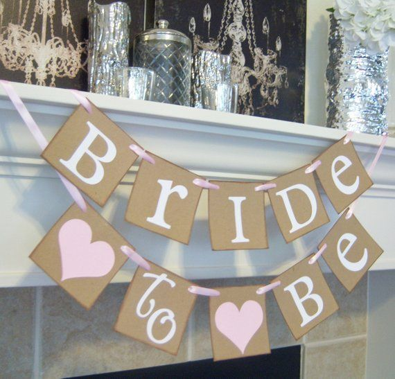 Bride to Be Banner, Wedding Banner, bridal shower Banner, Bridal Shower Decor, Bachelorette, Bride to Be signs, Engagement, Party Banner