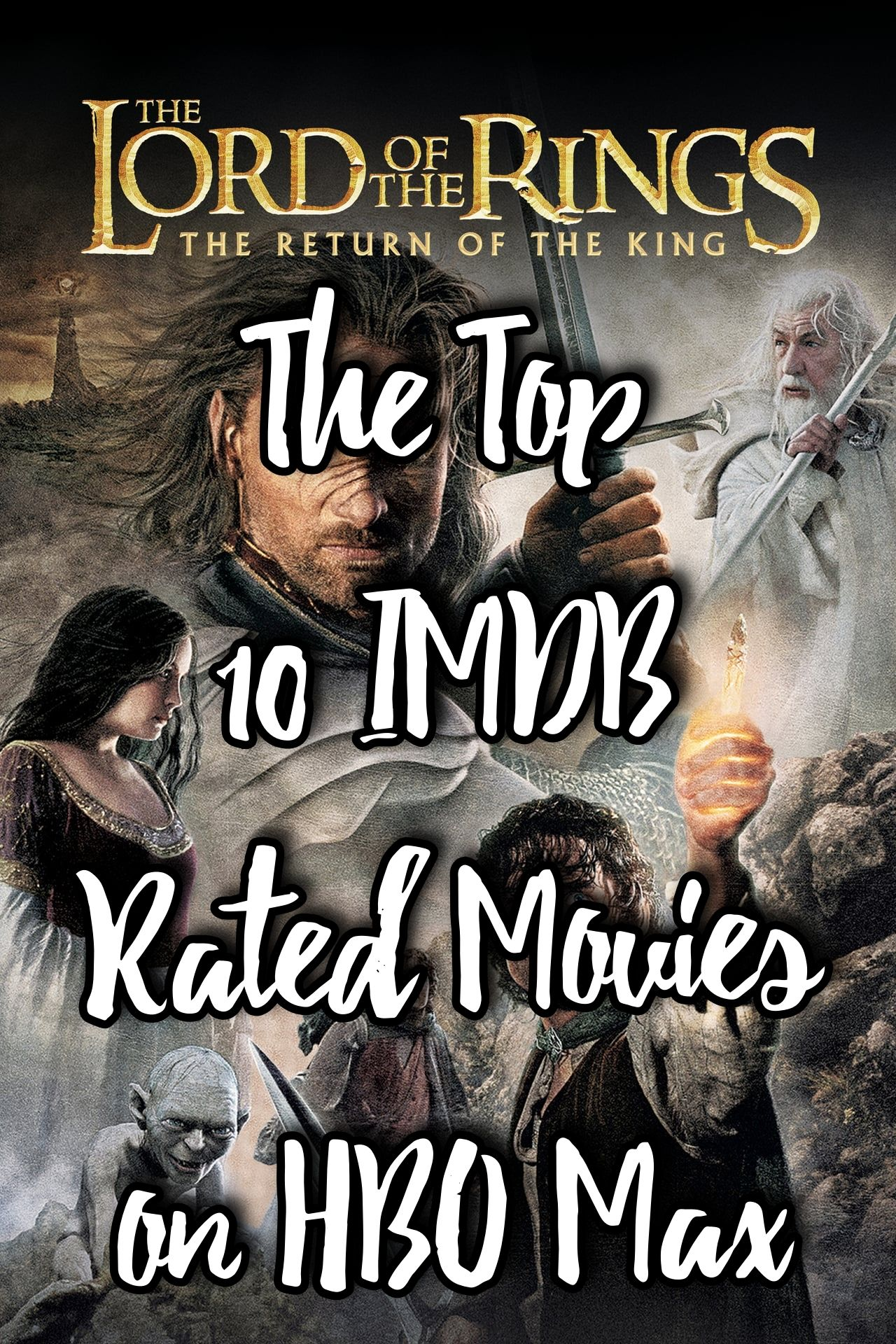 The Top 10 Imdb Rated Movies On Hbo Max Hbo Streaming Movies Best Movies To See