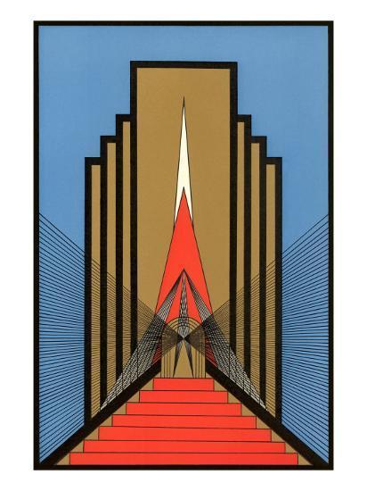 'Geometric Art Deco' Poster - | AllPosters.com