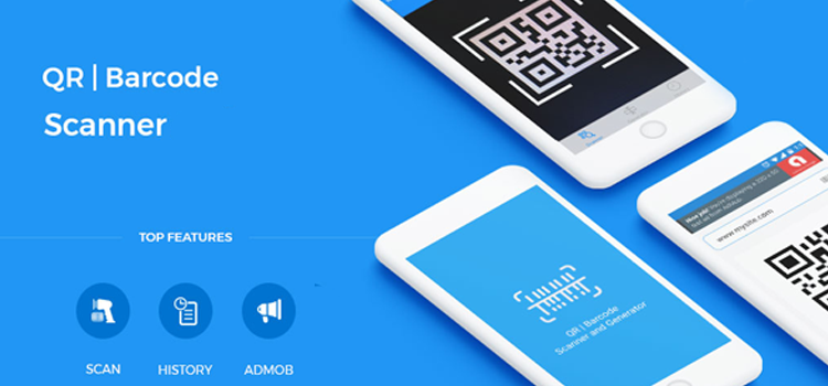 Qr Barcode Scanner 2019 Android App Source Code Qr Barcode Barcode Scanner Scanner App