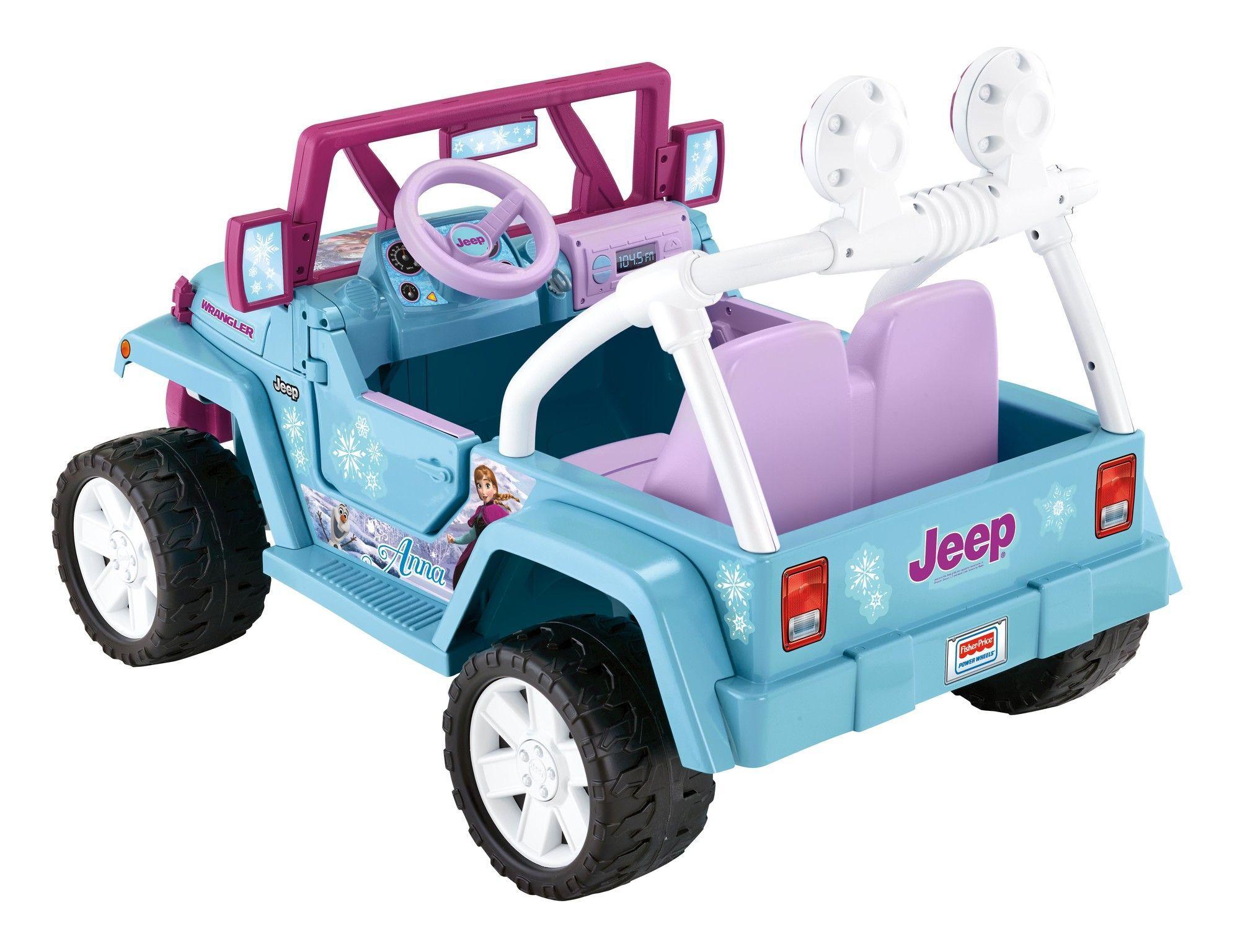 Disney Frozen Wrangler 12v Battery Powered Jeep