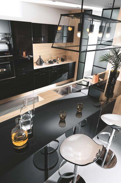 nice Idée relooking cuisine - Cuisine Mobalpa  5 modèles de cuisine