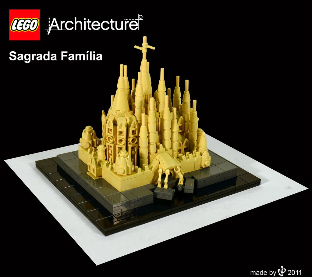 sagrada familia_2 Lego architecture, Lego and Legos