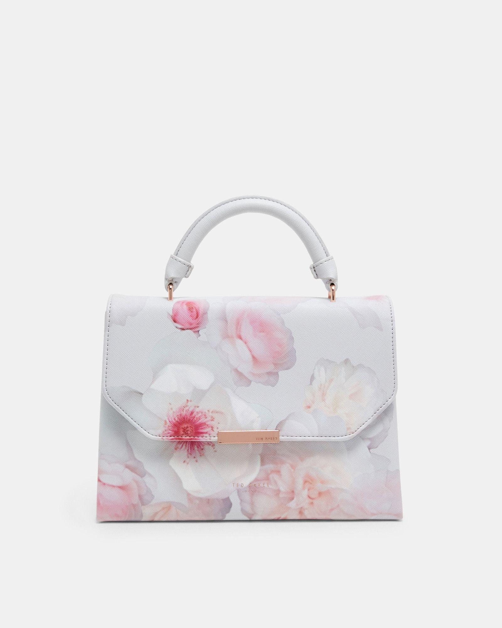 b9ada240b Ted Baker Paint splash shopper bag Ivory