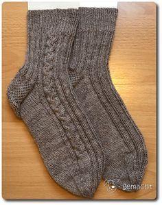 Photo of So, meine Socken-Reihe geht weiter bzw. startet neu mit den Alphabet-Städte-Soc…