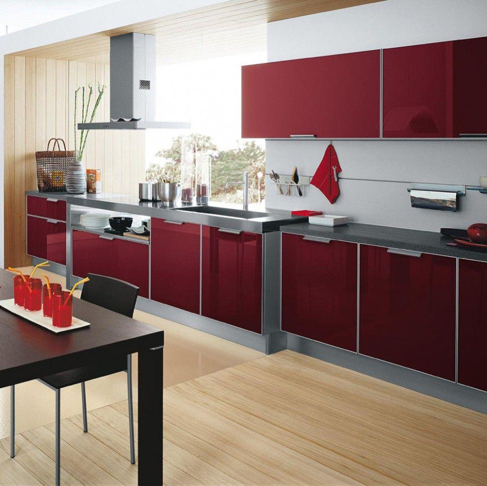 High Gloss Kitchen Cabinets Di 2020