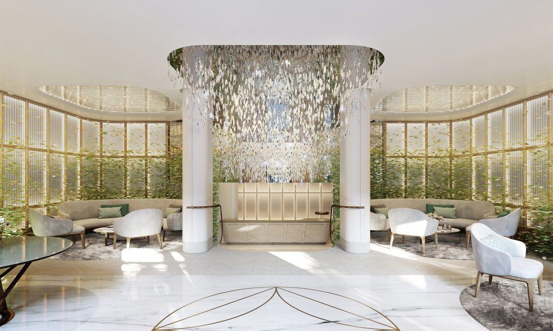 L'agence Patrick Jouin et Sanjit Manku ont cr dans cette hotel une  ambiance calme