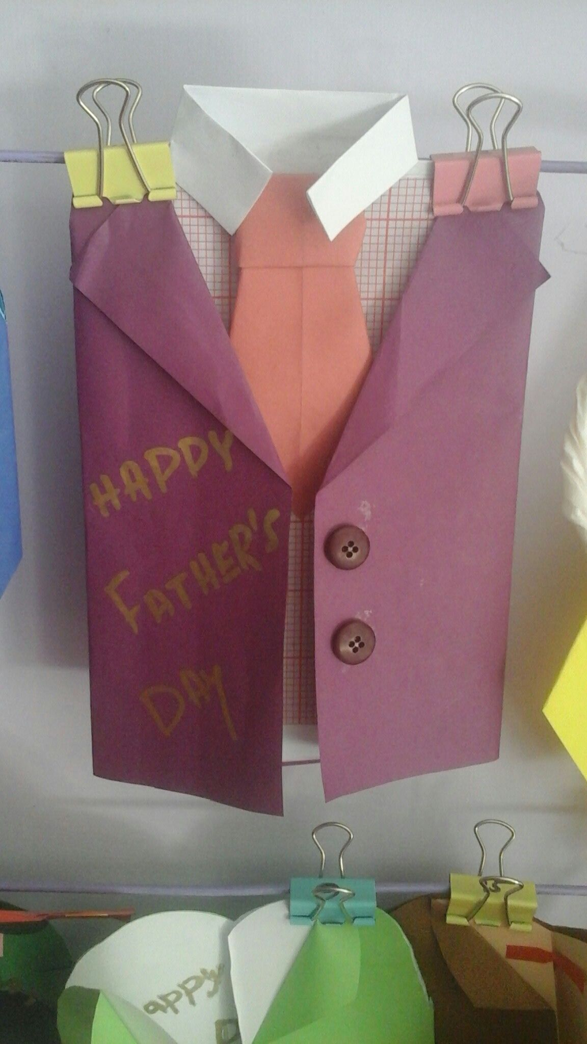 Fathers day card cards gift wrapping fathers day