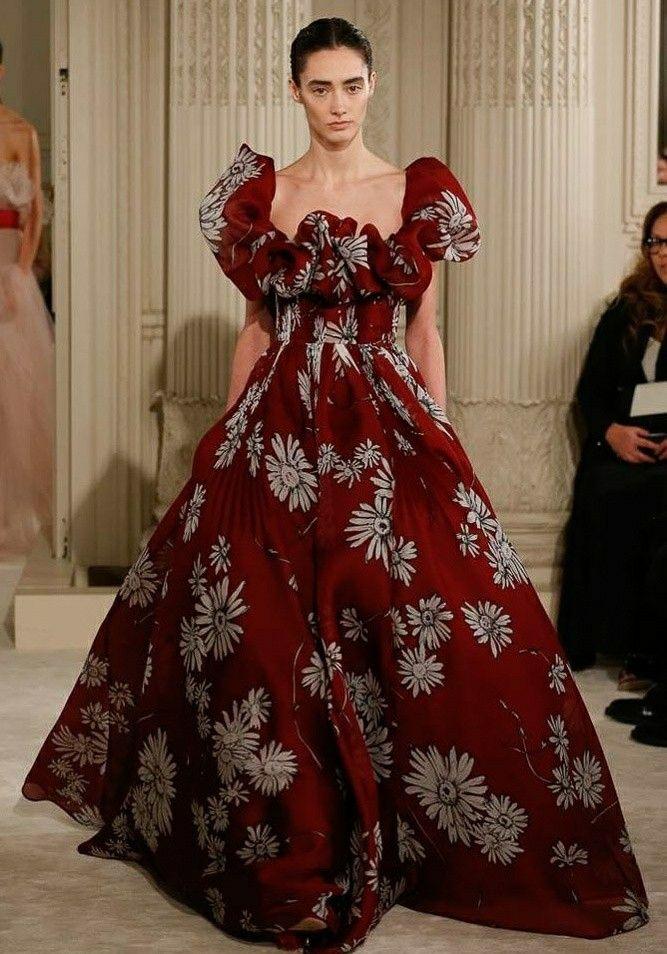 Uma Prévia Do Desfile #couture #ss18 Da Maison Valentino. Meu Look Favorito!