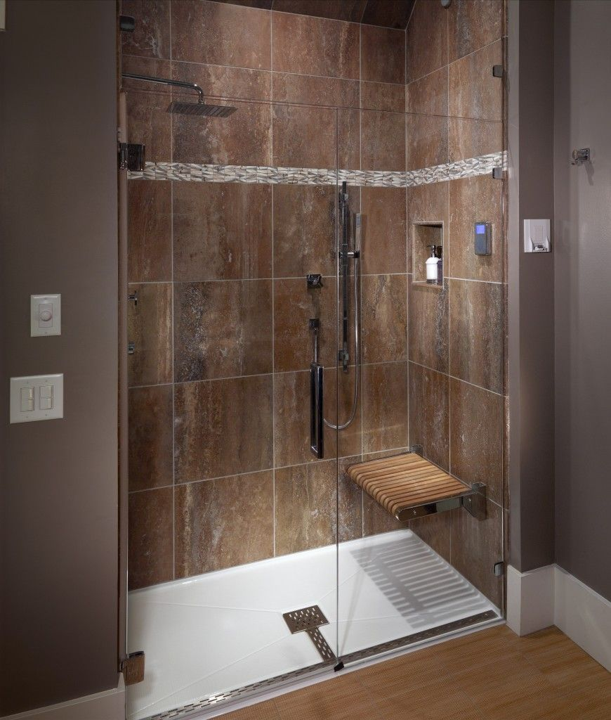 Sycamore Bathroom Mti Barrier Free Shower Base Fiberglass
