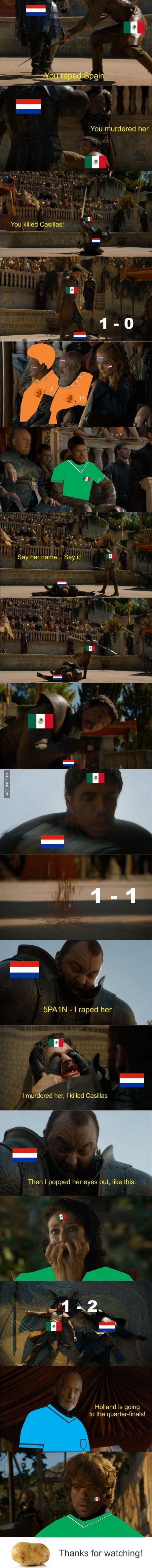 Netherlands Vs Mexico Mexico Vs Holanda Holanda Juego Mexico