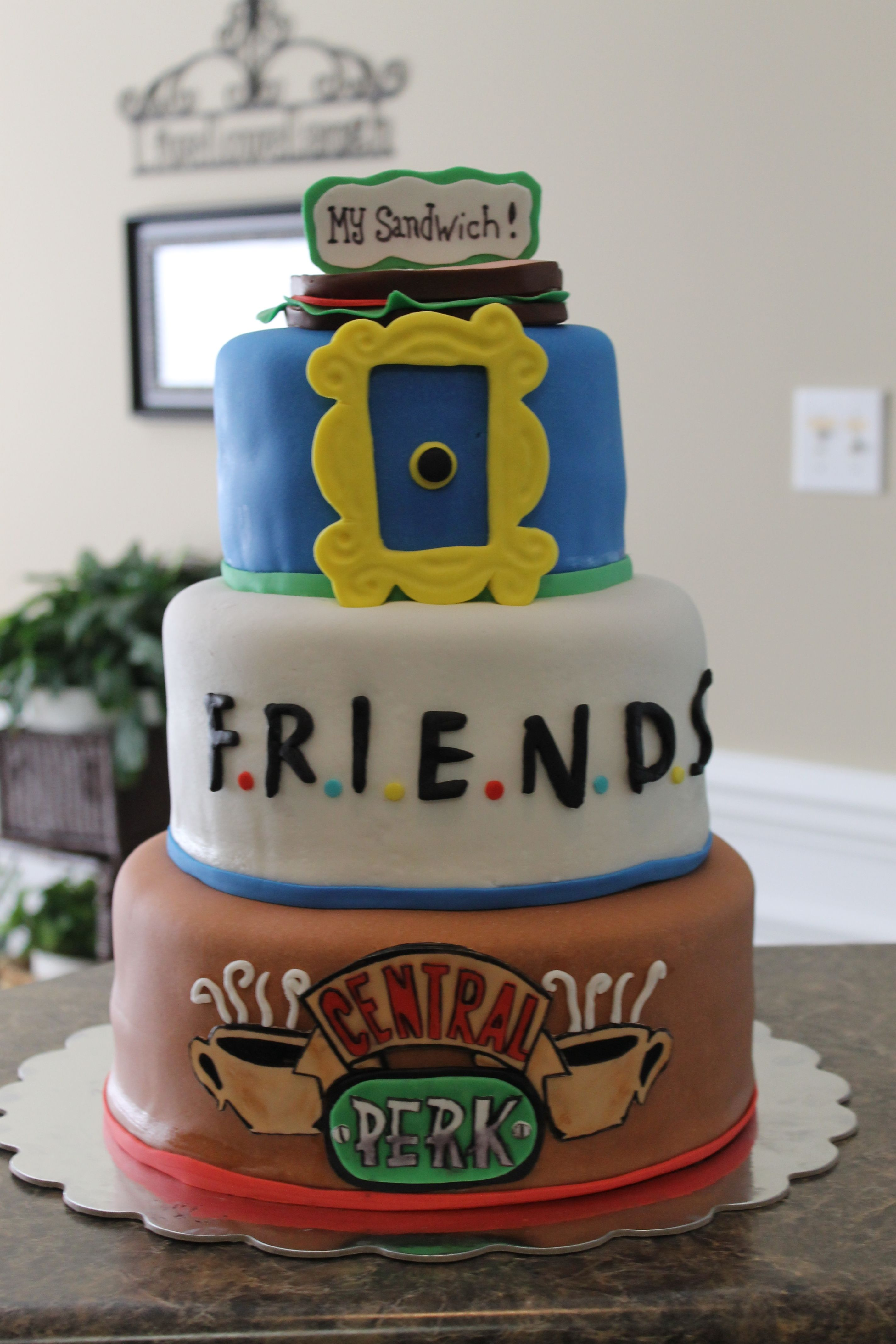 Friends TV show was the theme. | Friends party themed ideas ...