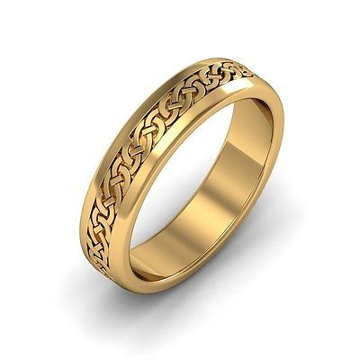 Other Celtic Jewelry 34065 14K Gold Irish Handcrafted Celtic Design