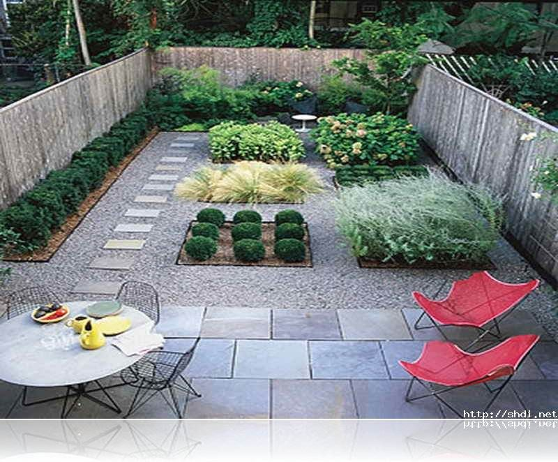 Small front yard landscaping no grass best garden - No grass backyard ideas ...
