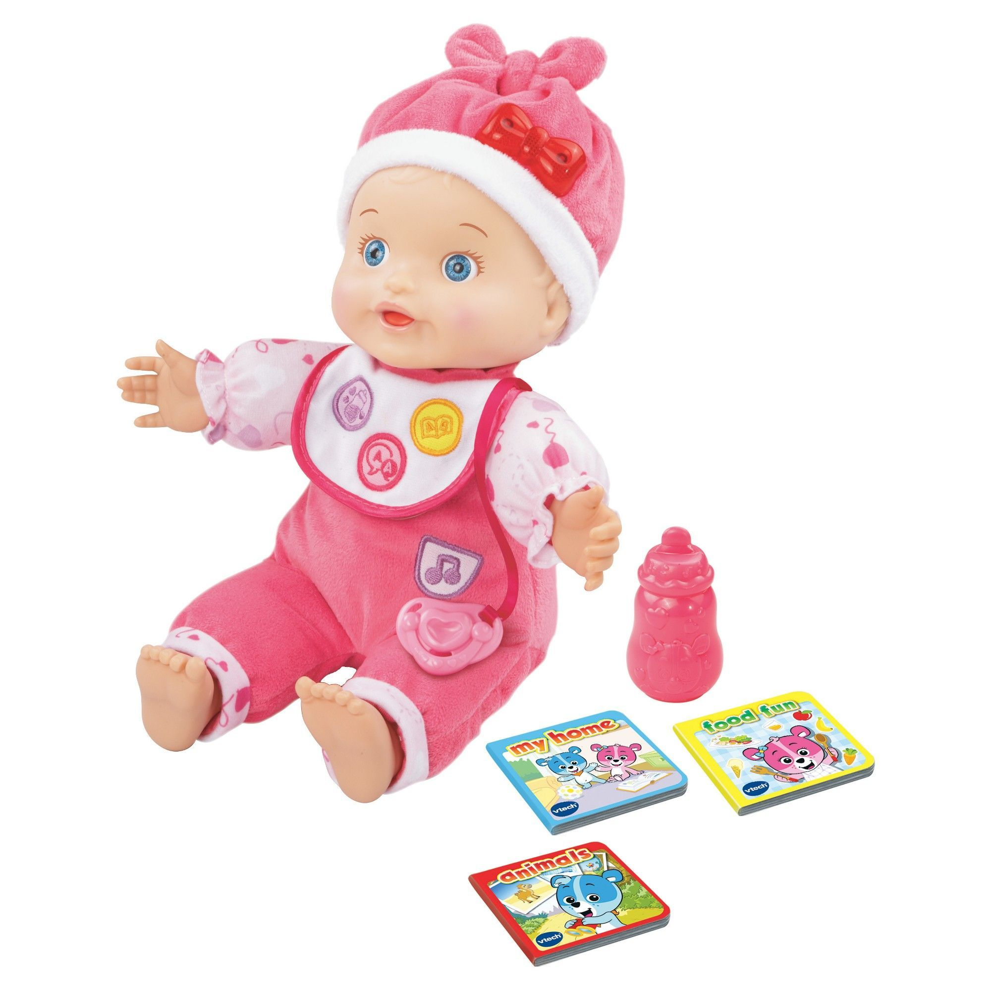 Vtech Baby Amaze Learn to Talk & Read Baby Doll | Vtech ...