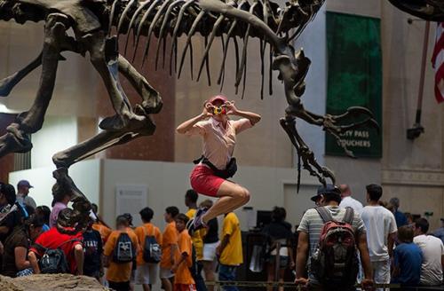 museum dancer