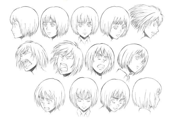 Read Manga Online Anime Character Design Attack On Titan Anime Character Design