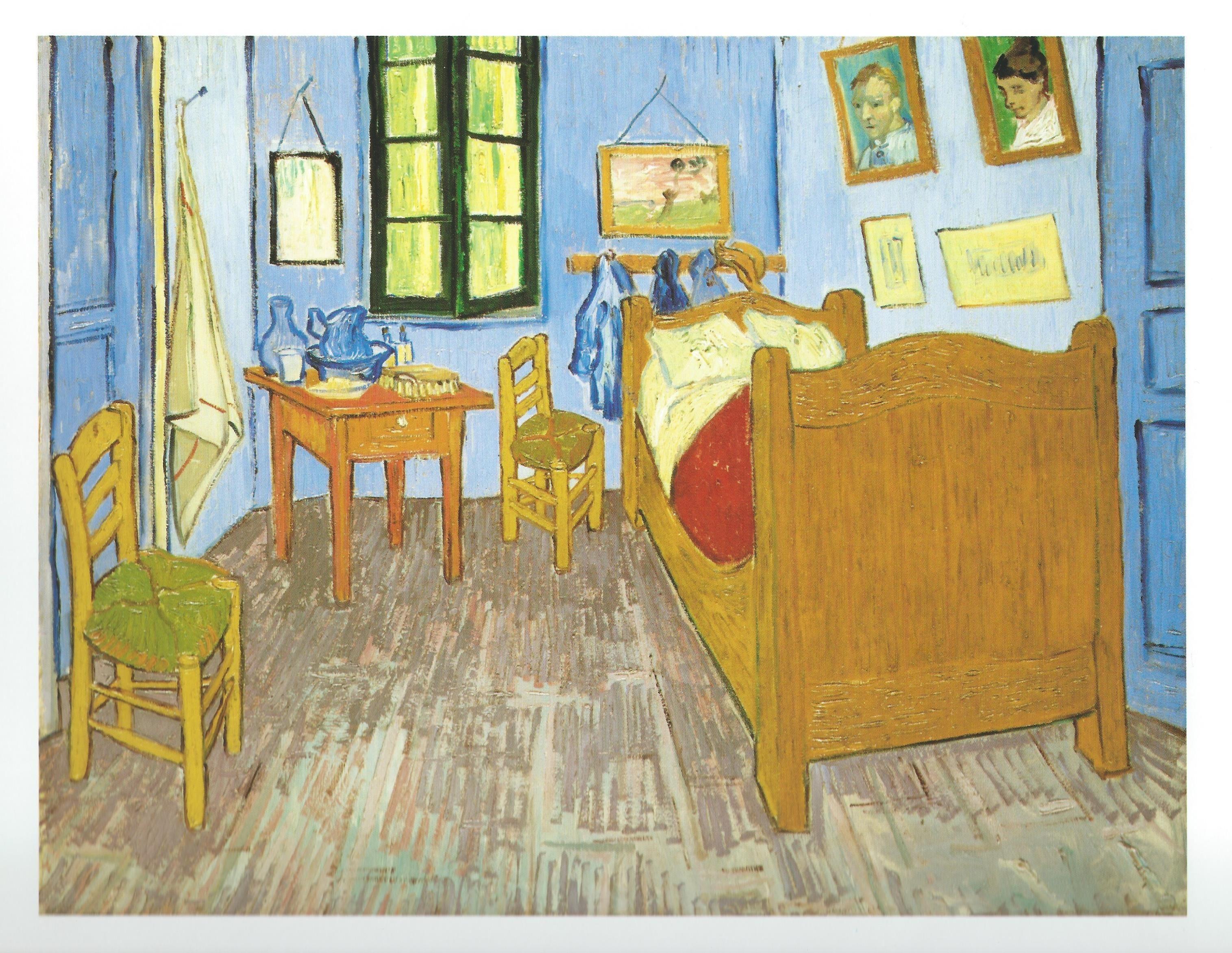 La habitación en Arles, de Vincent van Gogh | Postcards, pequeñas ...