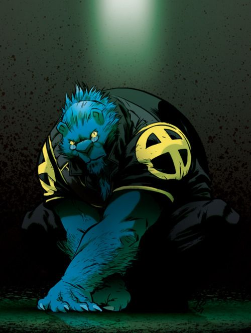 Henry Mccoy Beast Marvel Beast Xmen Man Thing Marvel