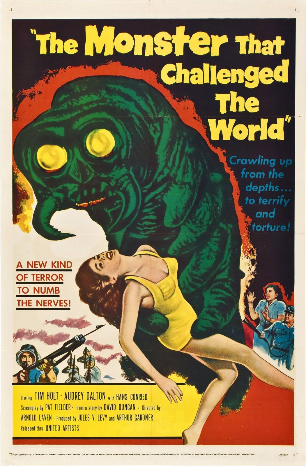 50s Posters Bing Images Classic horror movies posters
