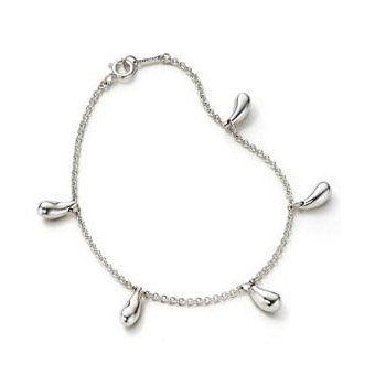 Tiffany & Co Elsa Peretti Five Teardrop Bracelet