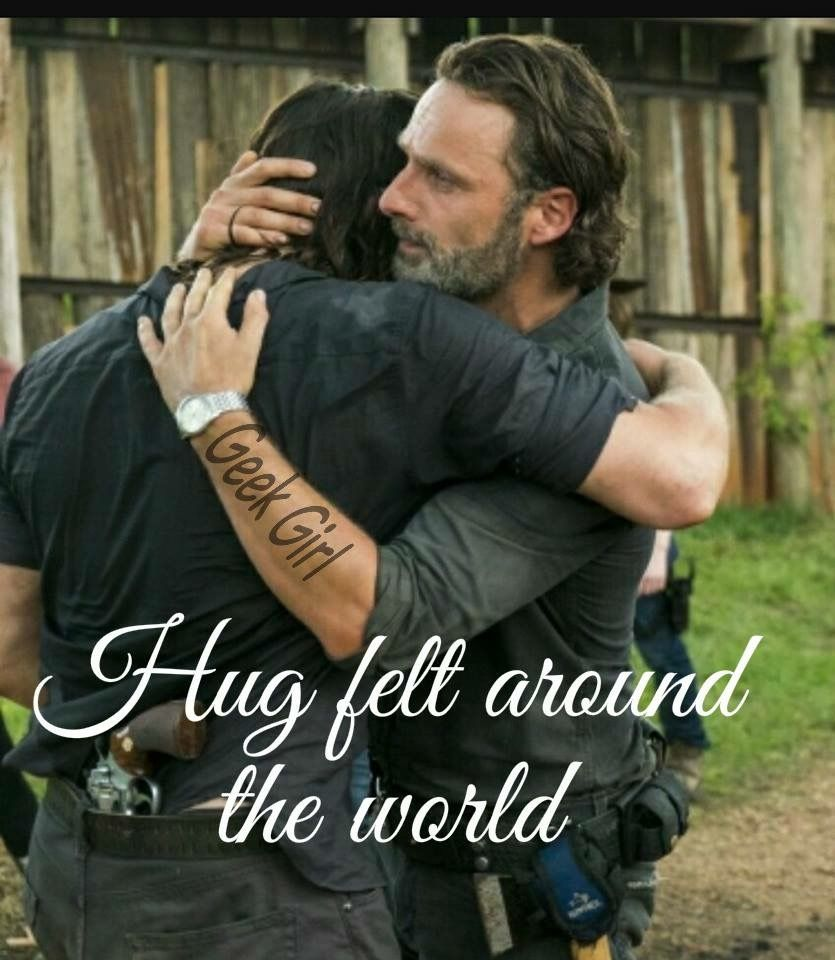 Best Hug Ever Brothers Walking Dead Daryl The Walking Dead