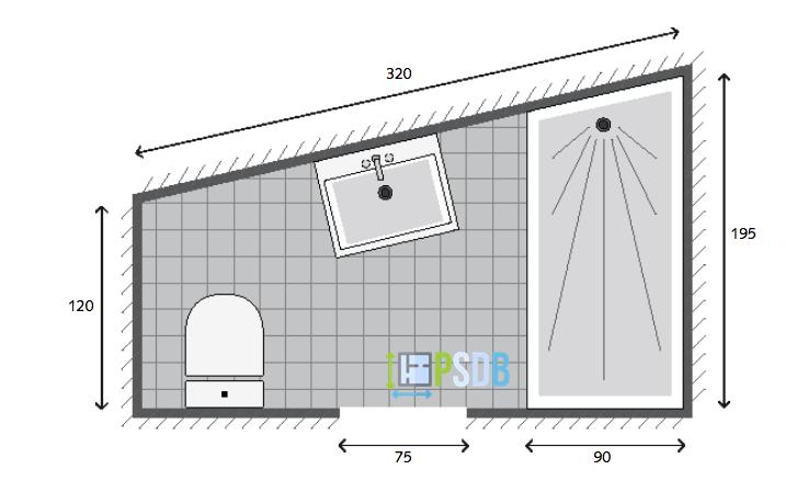 Exemple De Plan De Salle De Bain De 3 9m2 Plan Salle De Bain