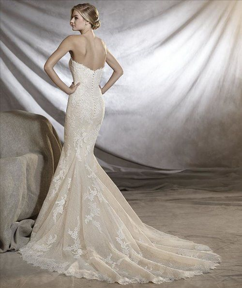 PRONOVIAS ~ ORINOCO | Pronovias Gowns | Pinterest | Wedding dress ...