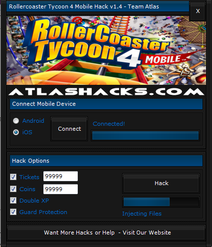 Rollercoaster Tycoon 4 Mobile Hack, Rollercoaster Tycoon 4