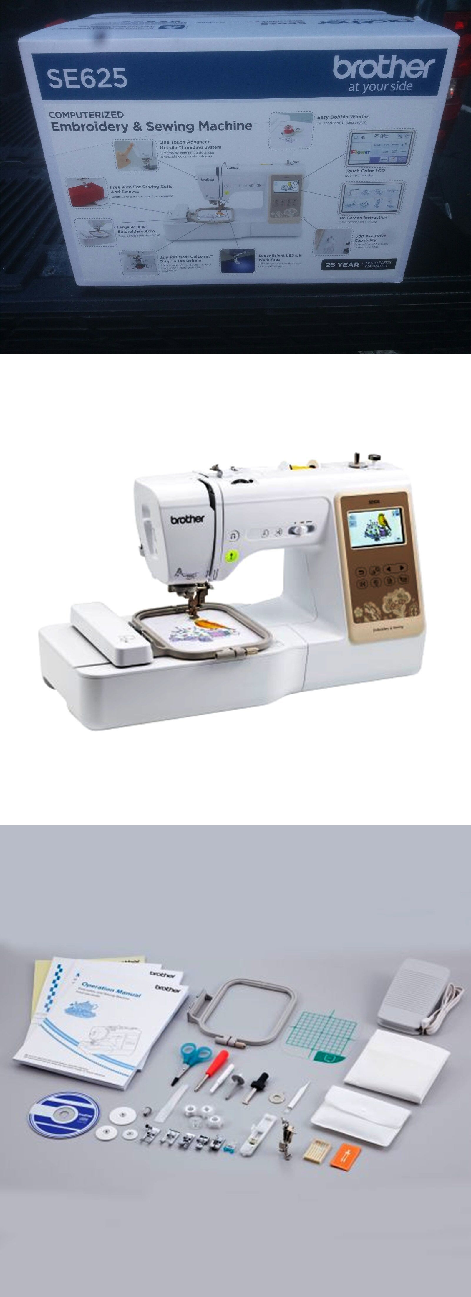 Sewing Machines and Sergers 3118: Brother Se625 Computerized Sewing ...