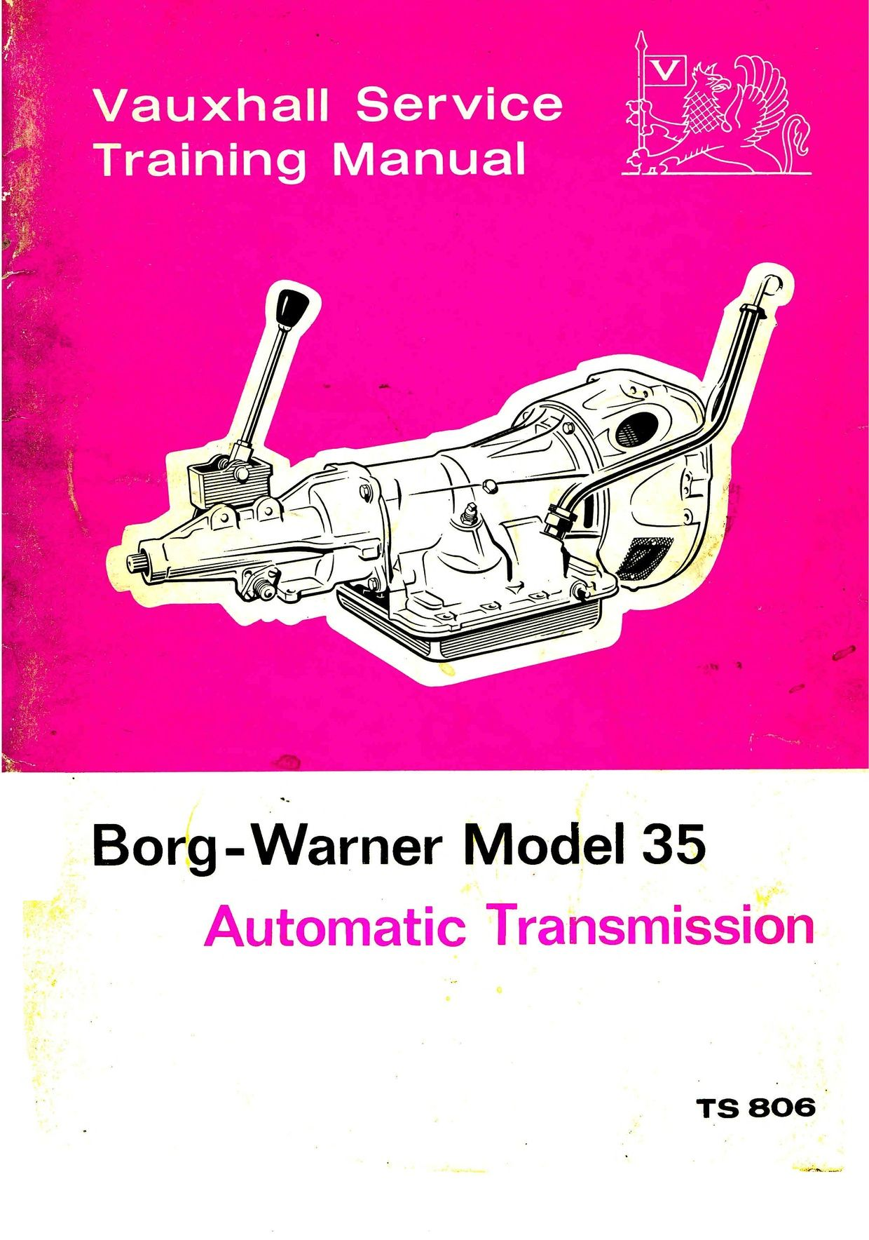 Gm Vauxhall Leycock Borg Warner Gear Box Manuals Vauxhall Train Book Borg