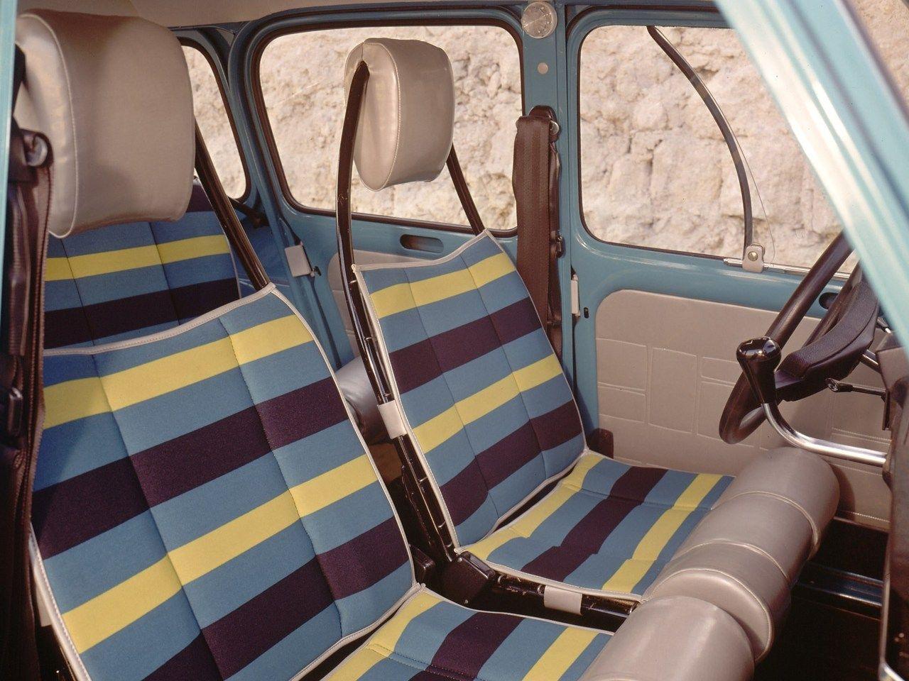 1975 Renault 4 Safari Renault 4 Renault Car Interior
