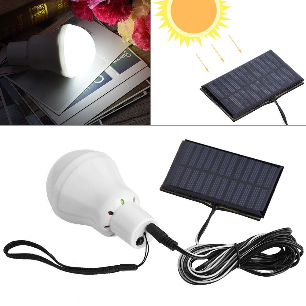 7 54 Solar Power Rechageable Camping Cool 12 Led Bulb Light Outdoor Tent Lamp Light Ebay Home Garden Solar Light Bulb Solar Powered Lights Camping Lamp
