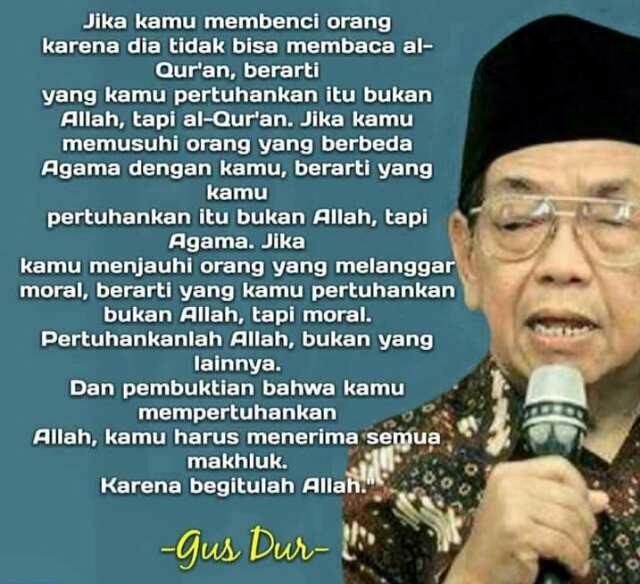 KH. Abdurrahman Wahid #GusDur