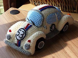 Amigurumi Patterns Cars : Amigurumi volkswagen beetle vw classic car pattern by millionbells