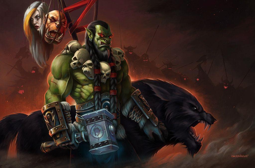 Thrall Warcraft Art World Of Warcraft World of warcraft thrall wallpaper