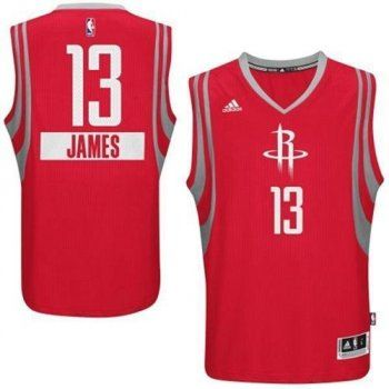 86b72e7912f Houston Rockets  13 James Harden Red 2014-15 Christmas Day Stitched NBA Jersey  Sale Free Shipping From China