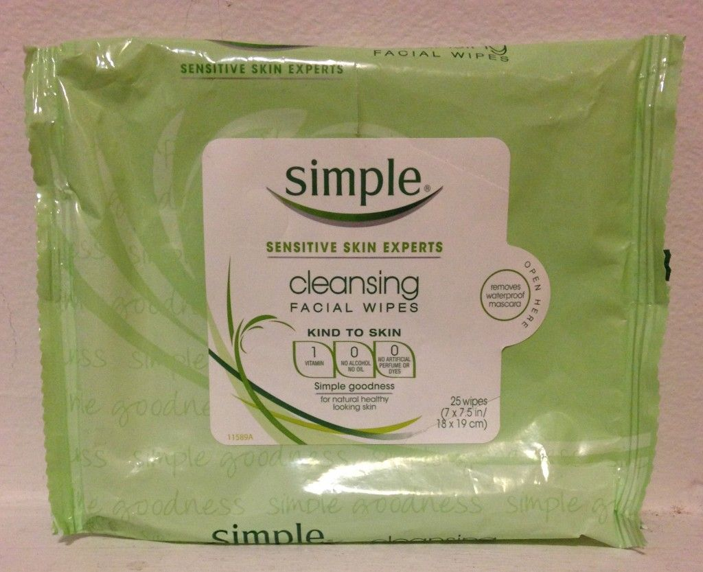 Dare to Compare Facial wipes, Makeup remover wipes
