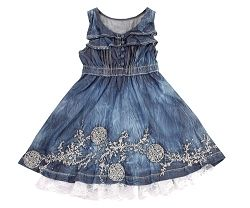 Pampolina Dandelion Denim Dress *Preorder*