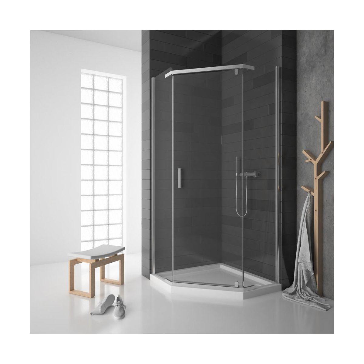 Kabina Prysznicowa Wellneo Perfetto 90x90 Jasna Leroy Merlin Bathtub Bathroom