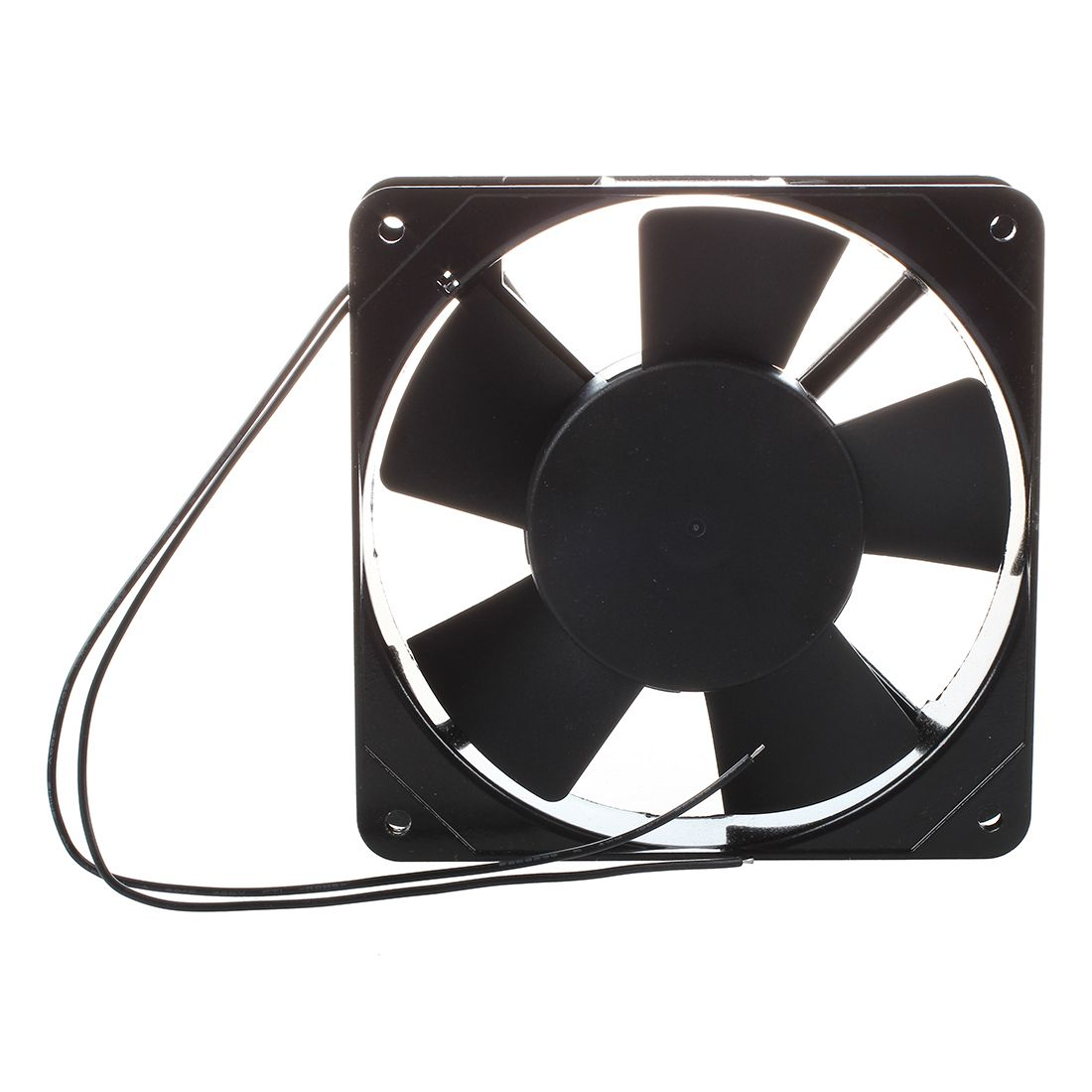 AC VV xx mm Fan for PC Black Computer Components