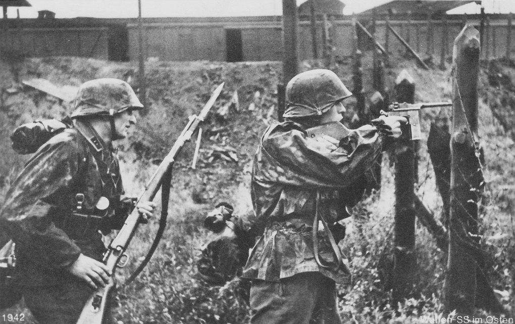 Image result for ww2 german soldier with bayonet