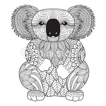 Coloriage Adult Coloring Pages Ashs Coloriage Koala