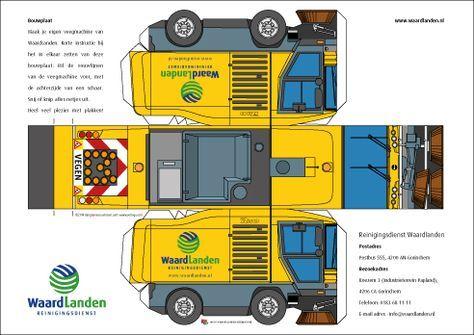 free paper model trucks betaalbare