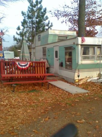 1956 richardson trailer with rear upper balcony for Rv with balcony