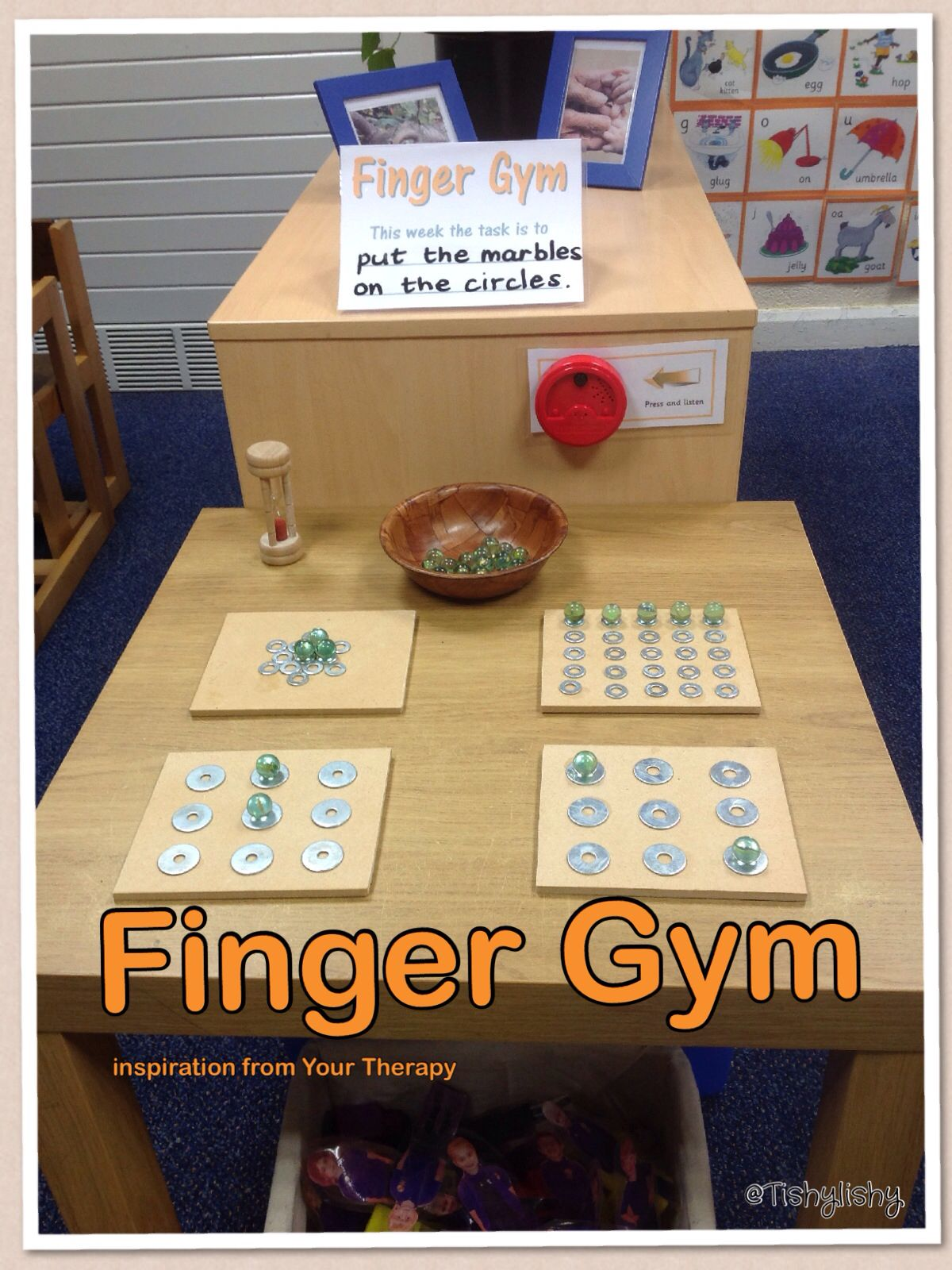 Marbles And Washers Funkyfingers