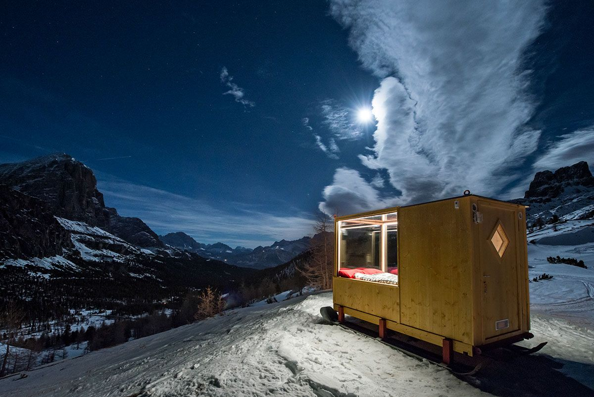 Approximately 20km from the busy city life of Cortina d'Ampezzo and Val Badia, you can spend a night in the...
