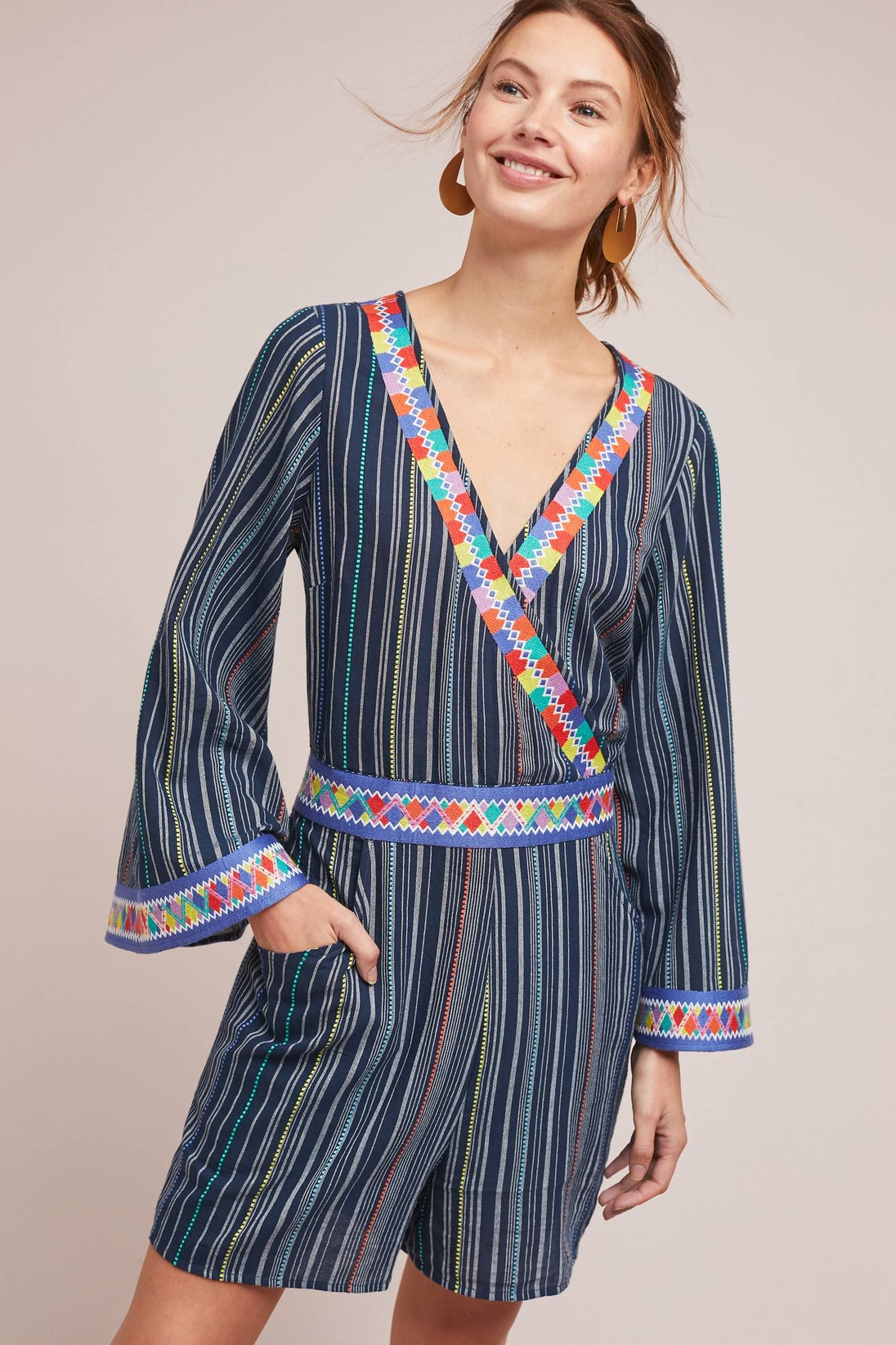 5a34526540f9 Nantucket Striped Romper in 2019 | LAIA | Rompers, Dresses, Nantucket