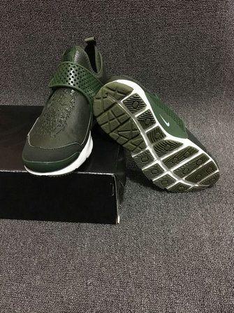 Nike Sock Dart Mid X Stone Island Army Green Emerald Green 910090 300 TopDeals